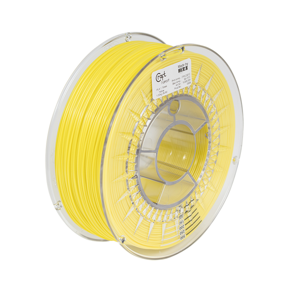 PLA filament Yellow 1kg