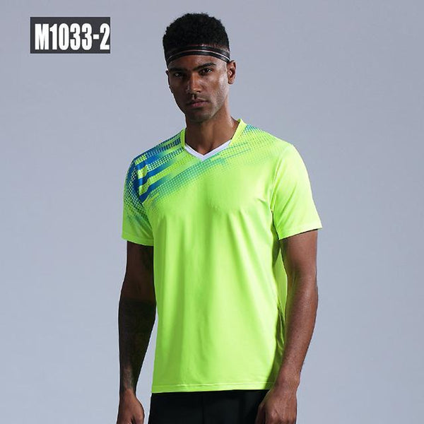 New Tennis shirts Men women short sleeve golf Po shirts gym sport clothing badminton shirt outdoor