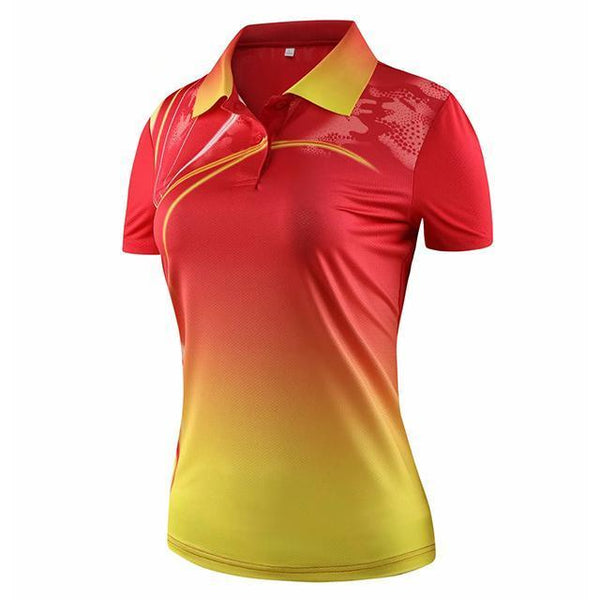 2020 summer cheap Badminton shirts Men/Women,sport short-sleeved polo shirts Tennis ,table tennis