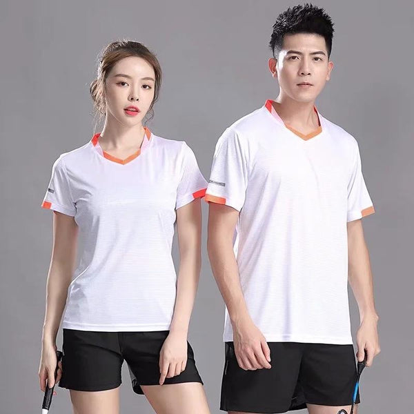 New Badminton Shirt Table Tennis Uniforms Tennis Quick Dry Running Sport Short Sleeve Quick dry