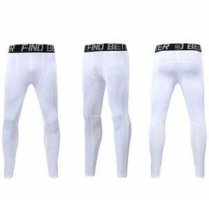 children Running Pants Compression Sports Leggings Fitness clothes Boys Girls Basketball Training