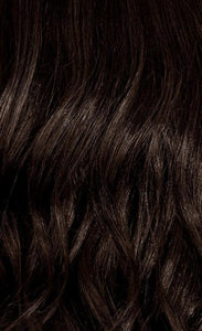 Color from Roots to Ends in Darkest Brown (Ready to Order)