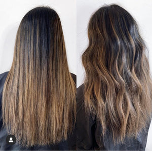 Brunette Glossing in Dark Blonde (Ready to Order)