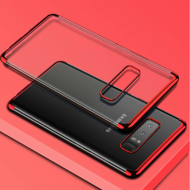 Samsung Note 8 Case Tpu Gel Silicone Plating Case Cover