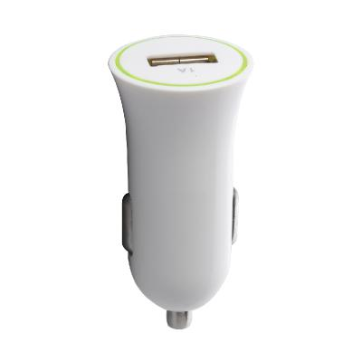 Car Charger Single USB White