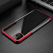 Plating TPU Glossy Soft Slim Case Cover For iPhone 7
