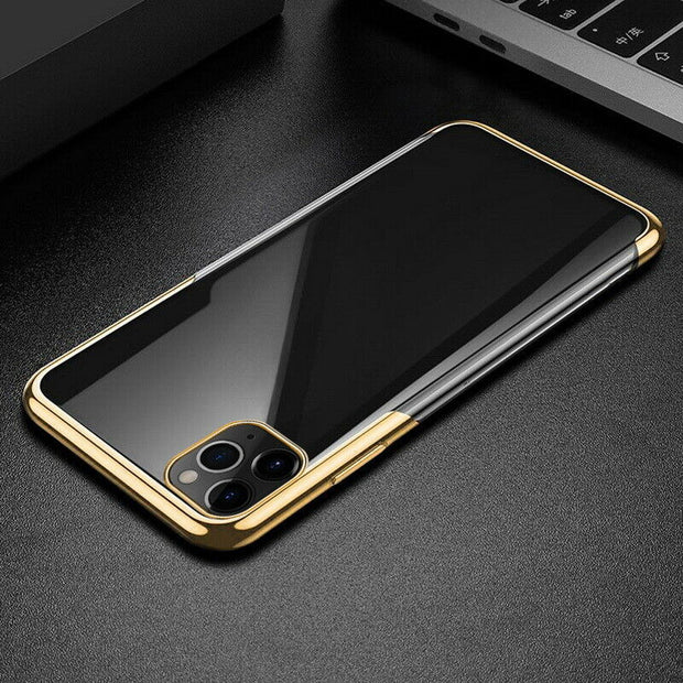 Plating TPU Glossy Soft Slim Case Cover For iPhone 8