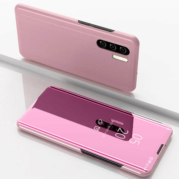 Huawei P Smart 2021 Mobile Phone Case Mirror Protective Cover