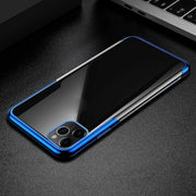 Plating TPU Glossy Soft Slim Case Cover For iPhone 8 Plus
