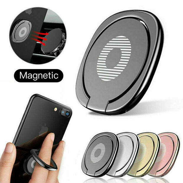 Pop Up Finger Ring Holder 360 Rotating Stand Socket Phones