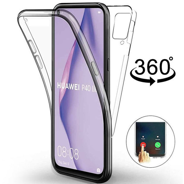 Full Protection Gel Silicone Case Cover For Huawei P30