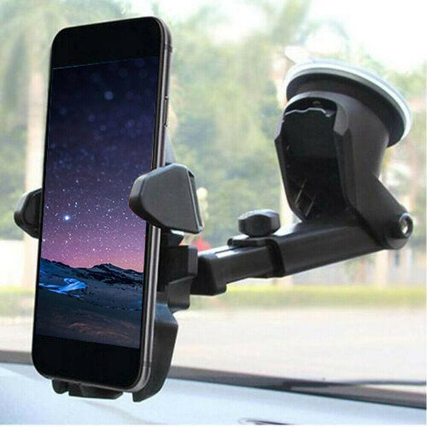 360° Rotate Universal Car Phone Holder Windscreen Suction Mount GPS Stand Cradle