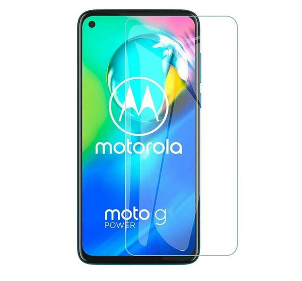 For Motorola G8 Power Tempered Glass Screen Protector Case Friendly
