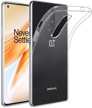 Flexible Soft Gel/TPU Cover with Soft Touch Keys Compatible with OnePlus 8