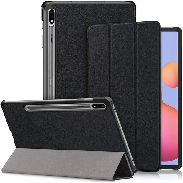 Samsung Galaxy Tab S7 Plus Case Premium Smart Book Stand Cover T870 T875 T876B