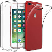 Clear Case Ultra Thin Transparent Silicone Gel Cover for iphone 8 Plus