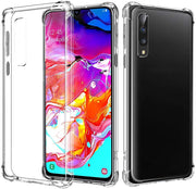 Case for Samsung A51 Transparent Shockproof Ultra Transparent Soft TPU Silicone Gel Case Cover transparent -Transparent