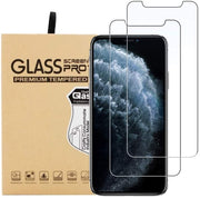 iPhone 8 Case Compatible Tempered Glass Screen Protector