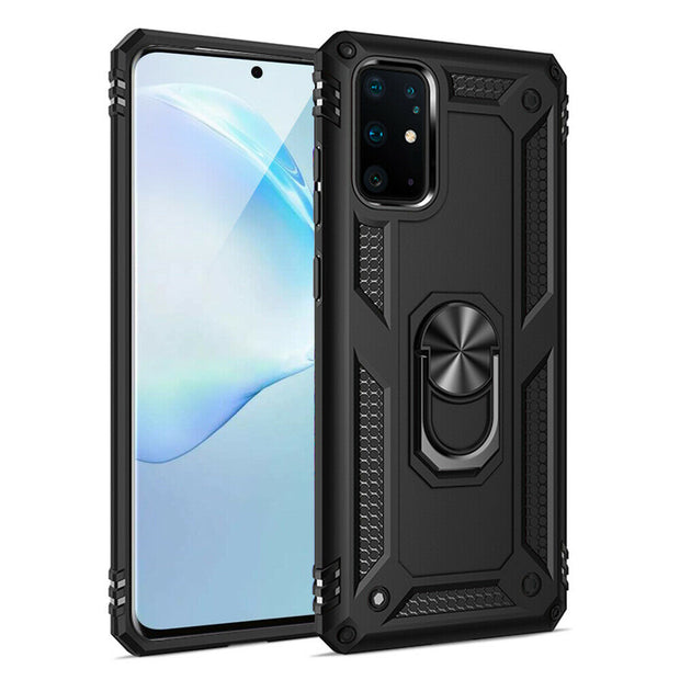 Samsung Galaxy S8 Plus Case Shockproof Heavy Duty Ring Rugged Armor Case Cover