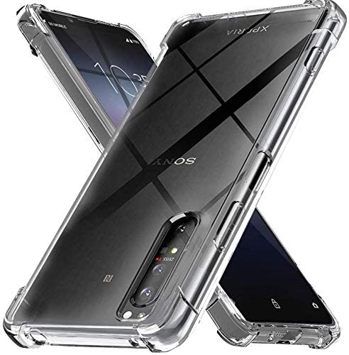 Shockproof Scratch Resistant Gel Rubber Silicone Phone Cover For Sony Xperia 5 - Clear