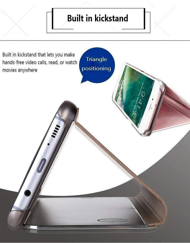 Samsung Note 10 Plus Mobile Phone Case Mirror Protective Cover