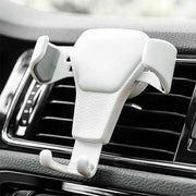 Adjustable Universal Phone Holder Car Air Vent Gravity Design Mount Cradle Stand