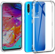 Case for Samsung A40 Transparent Shockproof Ultra Transparent Soft TPU Silicone Gel Case Cover transparent -Transparent