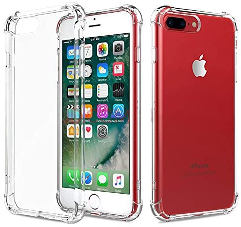 Clear Silicone Bumper Shockproof Case For Apple iPhone SE 2020