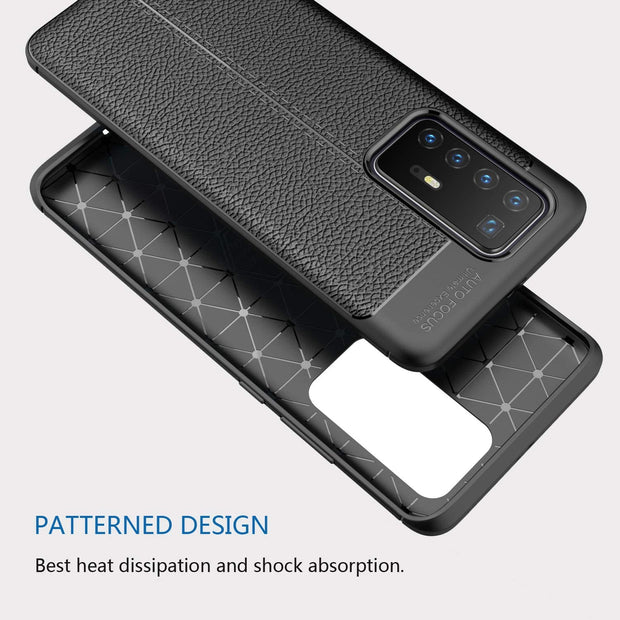 Leather Texture design Bumper Protective Cover for Huawei P40