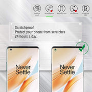3D Full Coverage Tempered Glass Screen Protector for OnePlus 8