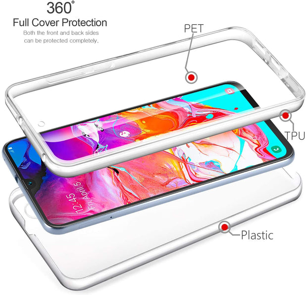 Case For Samsung Galaxy A41 Shockproof Gel Protective 360 Degree