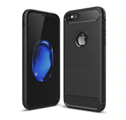 Apple iPhone SE 2020 (2nd Gen) Case Carbon Fibre Gel Case Cover