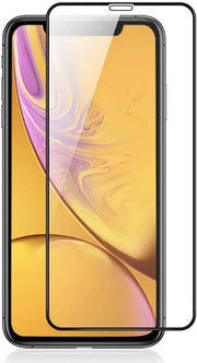 iPhone XS Max Full Cover Glass Screen Protector - Black