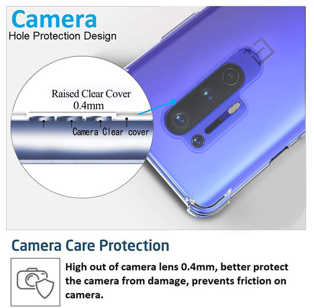 Shockproof Soft TPU Rubber Skin Silicone Protective case for OnePlus 7 Pro