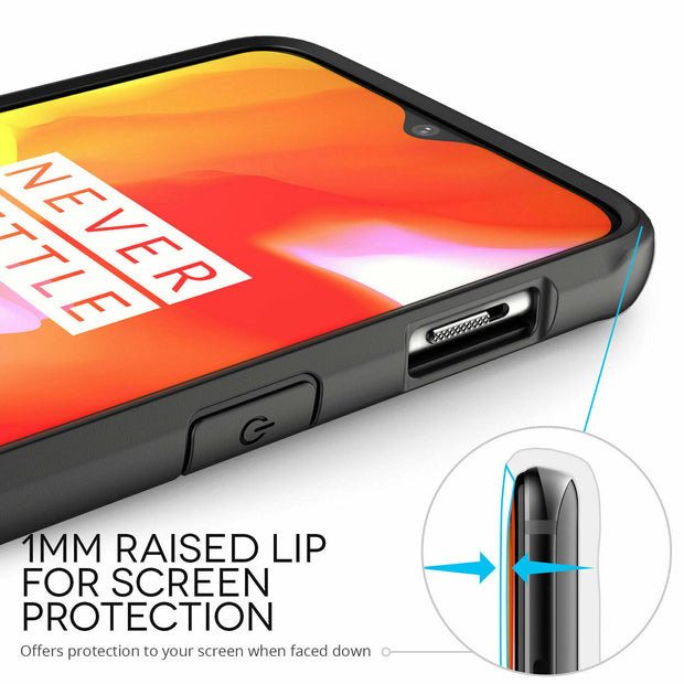 Shockproof Armor Clear Hybrid Bumper Rugged Case For OnePlus 8