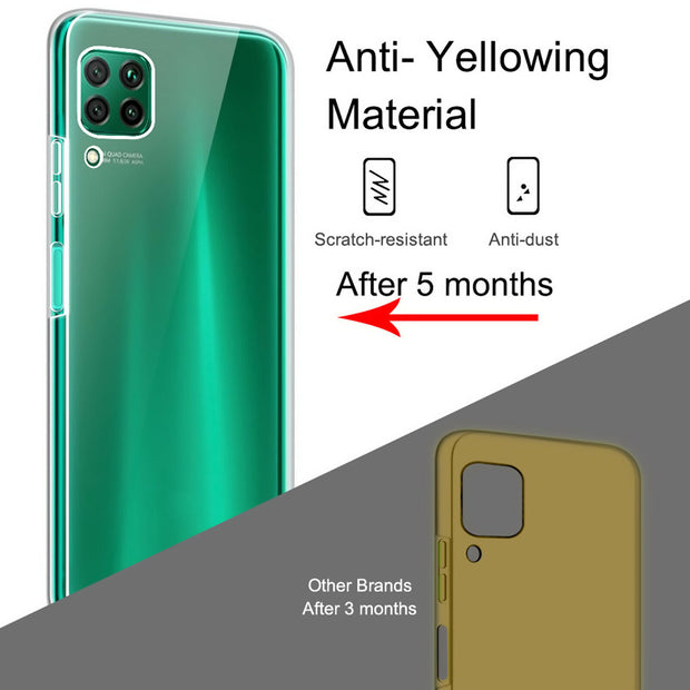 Full Protection Gel Silicone Case Cover For Huawei P30 Lite