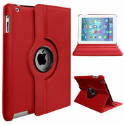 Leather 360 Rotating Smart Case Cover Apple iPad 2/3/4