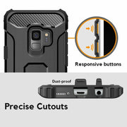 Samsung Note 8 Tough Hard Heavy duty Armour Case Black