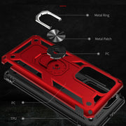 Huawei P40 Pro Shockproof Heavy Duty Ring Rugged Armor Case Cover