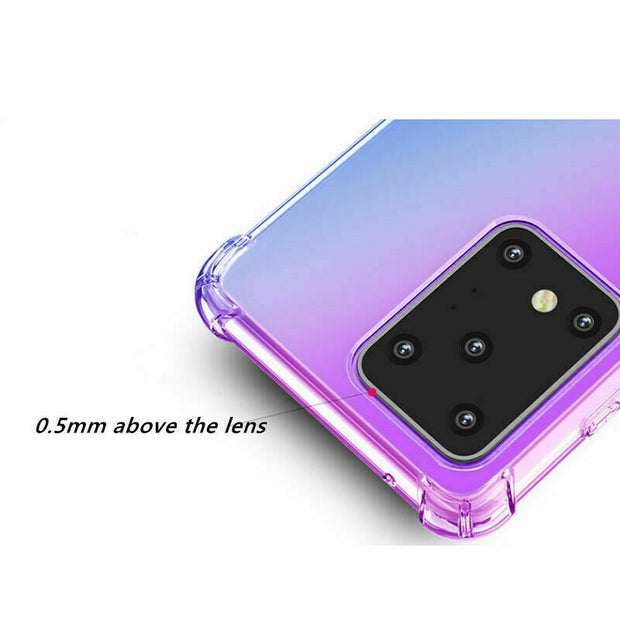For Samsung Note 10 Lite Shockproof Cover Silicone Bumper Gel Mobile Phone Case