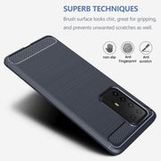 Shockproof Silicone Carbon Fibre Case Cover For Huawei Mate 20 Lite