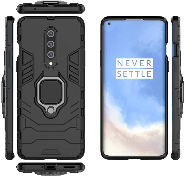 Silicone TPU Bumper Case Full Body Protection Cover Anti-Slip Shockproof Case for OnePlus 7
