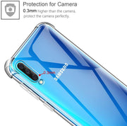 Case for Samsung A41 Transparent Shockproof Ultra Transparent Soft TPU Silicone Gel Case Cover transparent -Transparent