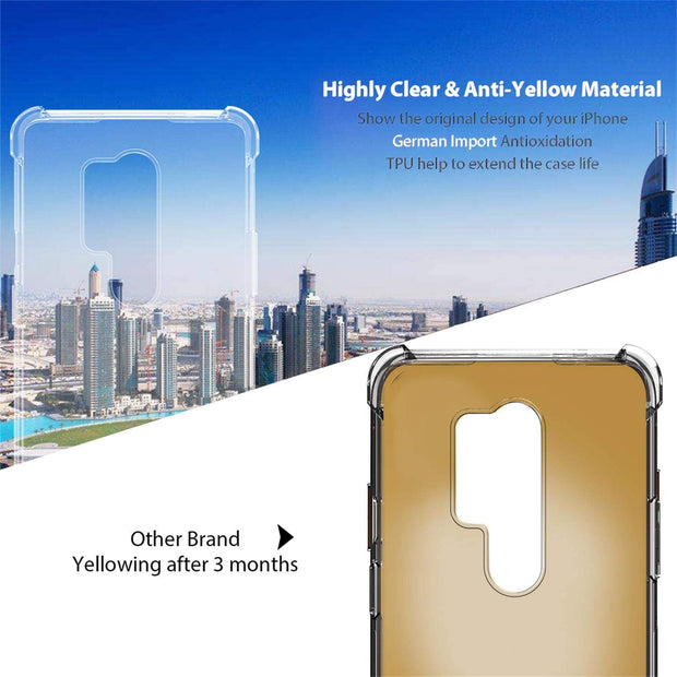 Shockproof Soft TPU Rubber Skin Silicone Protective case for OnePlus 8 Pro