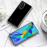 For Huawei P40 Lite Shockproof Cover Silicone Bumper Gel Mobile Phone Case