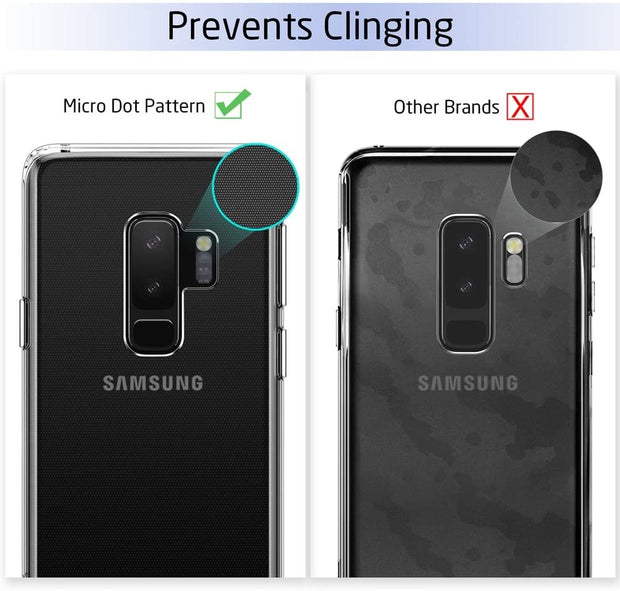Samsung Note 8 Case, Slim Clear Silicone Gel Phone Cover