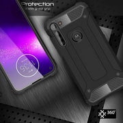 ShockProof, Rugged, Sturdy, Heavy Duty Protective Case Cover Motorola G8 Power Lite