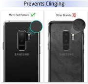 Samsung Galaxy S8 Case, Slim Clear Silicone Gel Phone Cover