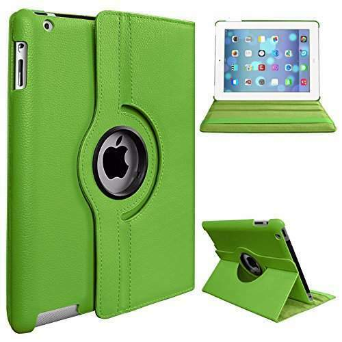 "Leather 360 Rotating Smart Case Cover Apple ipad 10.2"" (7th Gen)"