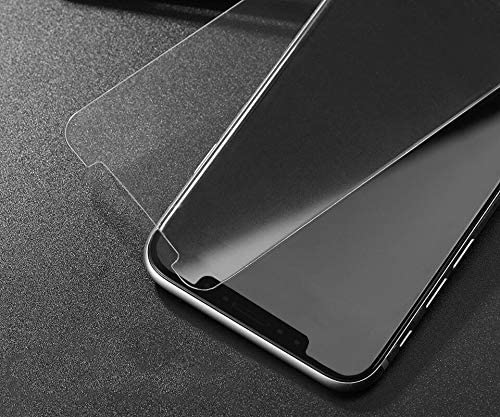 iPhone X/XS Case Compatible Tempered Glass Screen Protector